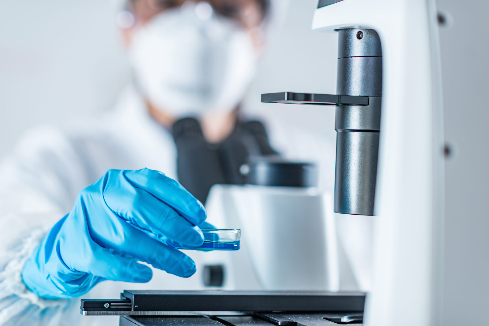 Embryology under the microscope at Reproductive centers of america